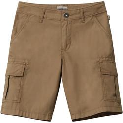 Textiel Kinderen Korte broeken / Bermuda's Napapijri NP0A4E4G Marron