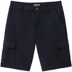 Textiel Kinderen Korte broeken / Bermuda's Napapijri NP0A4E4G Bleu