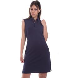 Textiel Dames Korte jurken Ea7 Emporio Armani 3HTA58 TJI3Z Blauw