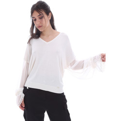 Textiel Dames Tops / Blousjes Gaudi 011FD53007 Wit