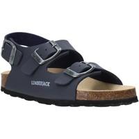 Schoenen Kinderen Sandalen / Open schoenen Lumberjack SB78706 001 S03 Bleu