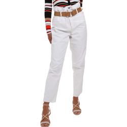 Textiel Dames Chino's Liu Jo WA0281 T6446 Blanc