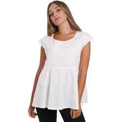 Textiel Dames Tops / Blousjes Nero Giardini E062761D Wit