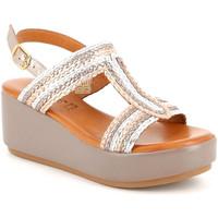 Schoenen Dames Sandalen / Open schoenen Grunland SA2489 Beige
