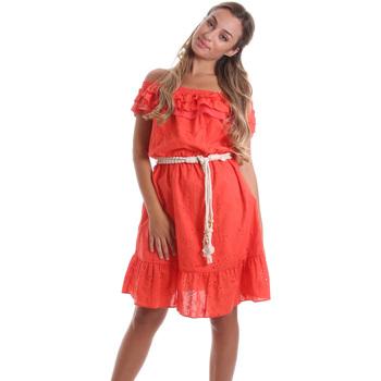 Textiel Dames Korte jurken Liu Jo FA0173 T4191 Orange