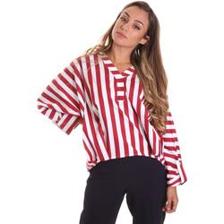 Textiel Dames Tops / Blousjes Liu Jo FA0292 T4169 Rouge
