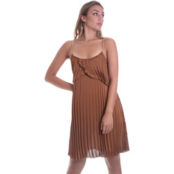 Textiel Dames Korte jurken Liu Jo FA0032 T5957 Bruin