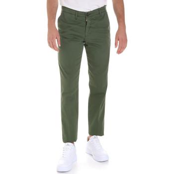 Textiel Heren Chino's Les Copains 9U3320 Groen