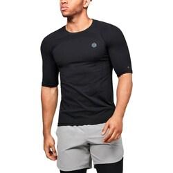 Textiel Heren T-shirts korte mouwen Under Armour UA Rush HG Seamless Compression Noir