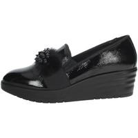 Schoenen Dames Mocassins Imac 606330 Black