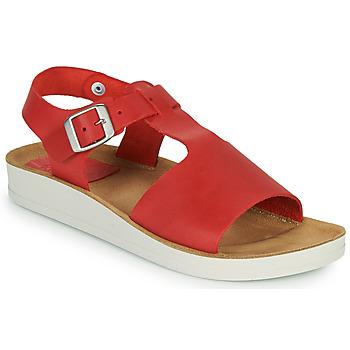 Schoenen Dames Sandalen / Open schoenen Kickers ODILOO Rood
