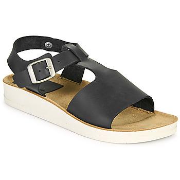 Schoenen Dames Sandalen / Open schoenen Kickers ODILOO Zwart