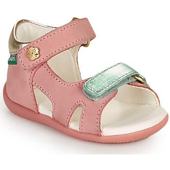 Schoenen Meisjes Sandalen / Open schoenen Kickers BINSIA-2 Roze