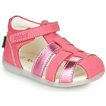 Schoenen Meisjes Sandalen / Open schoenen Kickers BIGFLO-2 Roze