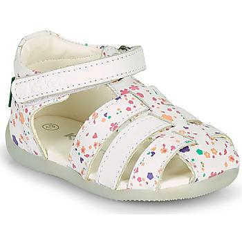 Schoenen Meisjes Sandalen / Open schoenen Kickers BIGFLO-2 Wit