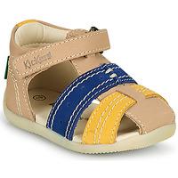 Schoenen Jongens Sandalen / Open schoenen Kickers BIGBAZAR-2 Marine