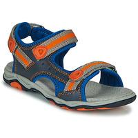 Schoenen Jongens Sandalen / Open schoenen Kickers KIWI Blauw / Orange