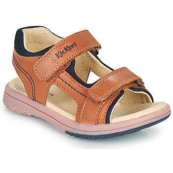 Schoenen Jongens Sandalen / Open schoenen Kickers PLATINO  camel