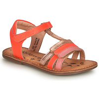 Schoenen Meisjes Sandalen / Open schoenen Kickers DIAMANTO Roze