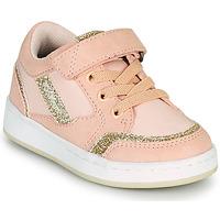 Schoenen Meisjes Lage sneakers Kickers BISCKUIT Roze