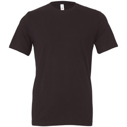 Textiel T-shirts korte mouwen Bella + Canvas CV3001 Donkergrijs massief