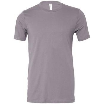 Textiel T-shirts korte mouwen Bella + Canvas CV3001 Storm