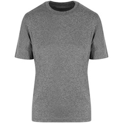 Textiel T-shirts korte mouwen Just Cool JC004 Grijze stadsmergel