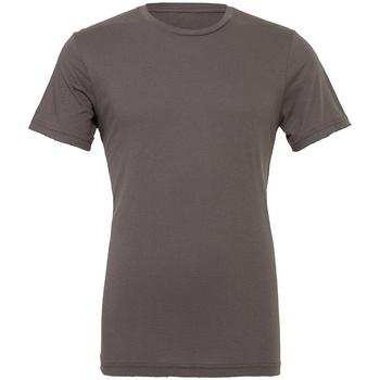 Textiel T-shirts korte mouwen Bella + Canvas CV3001 Asfalt