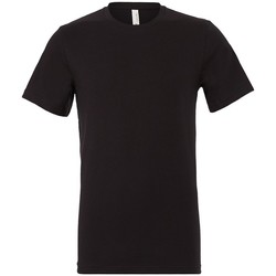Textiel T-shirts korte mouwen Bella + Canvas CV3001 Vintage Zwart