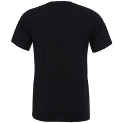 Textiel T-shirts korte mouwen Bella + Canvas CV3001 Zwart