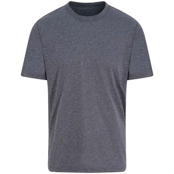 Textiel T-shirts korte mouwen Awdis JC004 Zwarte stadsmergel