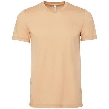 Textiel T-shirts korte mouwen Bella + Canvas CV3001 Zandduin