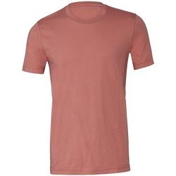 Textiel T-shirts korte mouwen Bella + Canvas CV3001 Mauve
