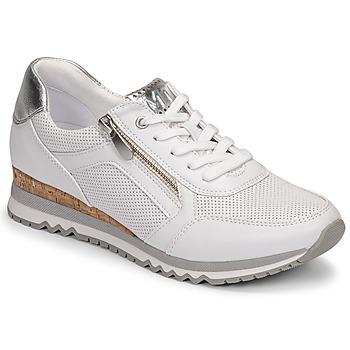 Schoenen Dames Lage sneakers Marco Tozzi  Wit