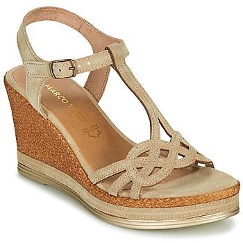 Schoenen Dames Sandalen / Open schoenen Marco Tozzi GRIMNI Grijs