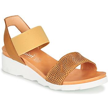 Schoenen Dames Sandalen / Open schoenen Felmini DARA Brown / Beige