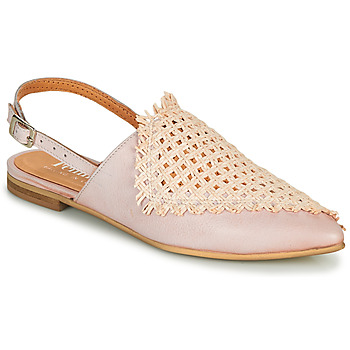 Schoenen Dames Leren slippers Felmini LIVIA Beige