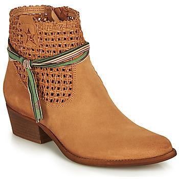 Schoenen Dames Laarzen Felmini WEST Brown