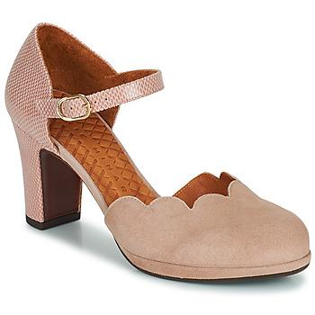 Schoenen Dames pumps Chie Mihara SELA Roze / Beige