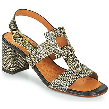 Schoenen Dames Sandalen / Open schoenen Chie Mihara LUSCA Zwart / Beige