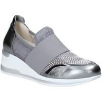 Schoenen Dames Instappers Melluso R20413 Zilver