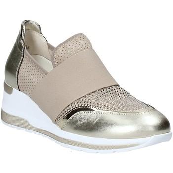 Schoenen Dames Instappers Melluso R20413 Goud