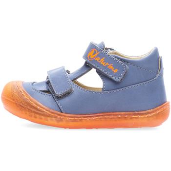 Schoenen Jongens Sandalen / Open schoenen Naturino 2013359-03-1C72 Blauw