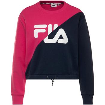 Textiel Dames Sweaters / Sweatshirts Fila 687491 Bleu