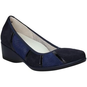 Schoenen Dames Ballerina's Melluso R30532 Blauw
