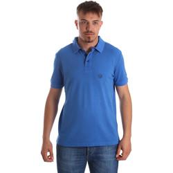 Textiel Heren Polo's korte mouwen Gaudi 911BU64063 Blauw