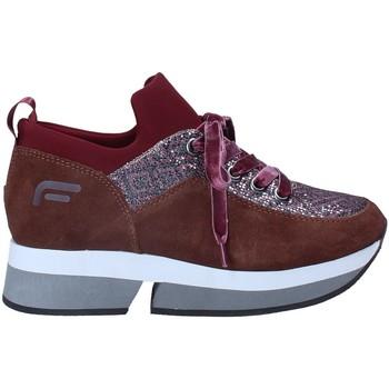Schoenen Dames Lage sneakers Fornarina PI18SL1080VM72 Bruin