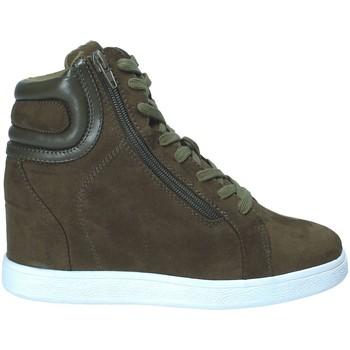 Schoenen Dames Hoge sneakers Fornarina PI18EL1147S034 Groen