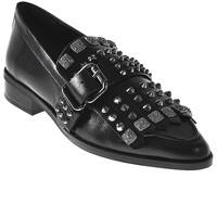 Schoenen Dames Mocassins Elvio Zanon I7704G Zwart