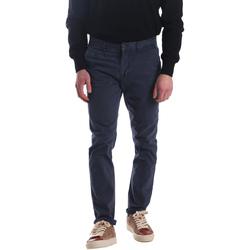 Textiel Heren Chino's Automatic PAU22172 Blauw